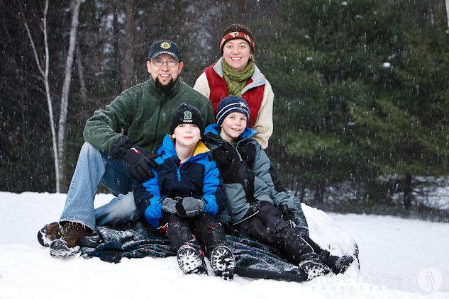 Outdoor Family Portrait
