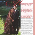 Southern Vermont Arts & Living article about a beautiful vermont wedding.