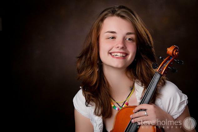 Violin Portrait