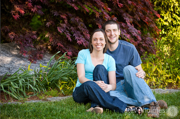 Engagement portrait at the Ashuelot River Park in Keene, NH.