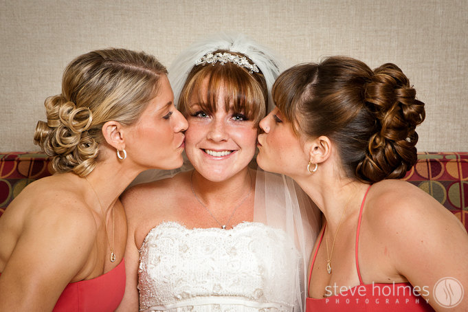 Kelsey and her sisters.
