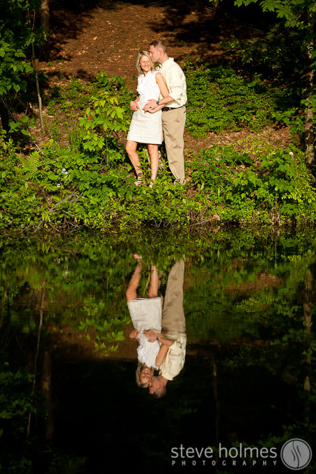 Portrait by the pond at Stonewall Farm.