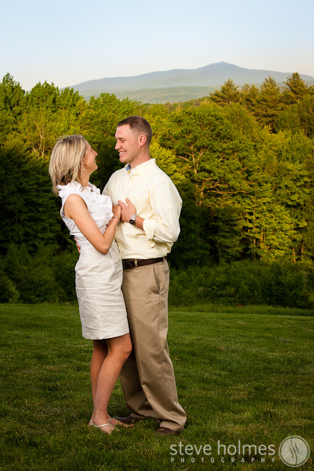 Great views of Monadnock made for a nice background for this portrait.