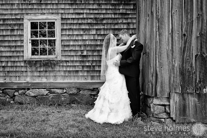 The old farm building on the property made for a great rustic background.