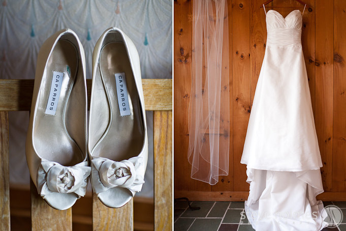 All of Lisa and Curt's details for the day followed the same style: Simplicity and beauty