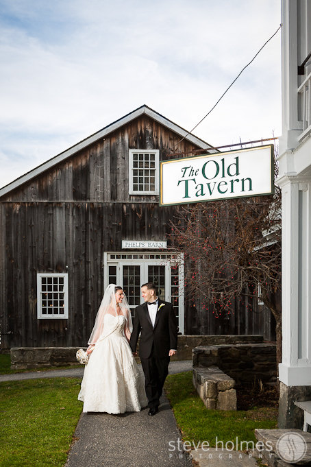 Elegant, yet rustic buildings give The Grafton Inn a very classic Vermont feel.