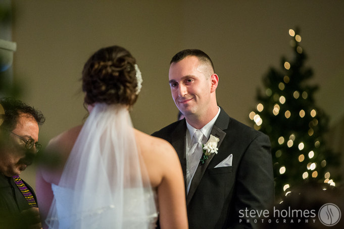 Tanya and Andrew's ceremony was very sweet and emotional