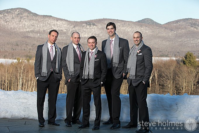 The groomsmen editorial pictures.