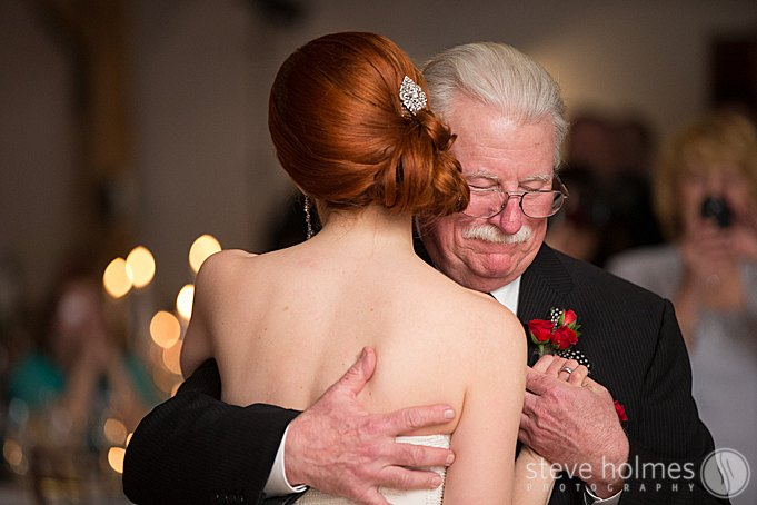 The emotional father daughter dance.