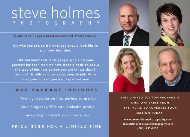 business portrait promotion