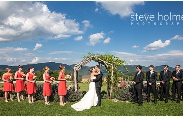 Rustic Mountain Top Inn Wedding Chittenden Vt