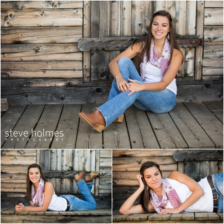 14_girl-by-wood-shed-poses-for-senior-portraits