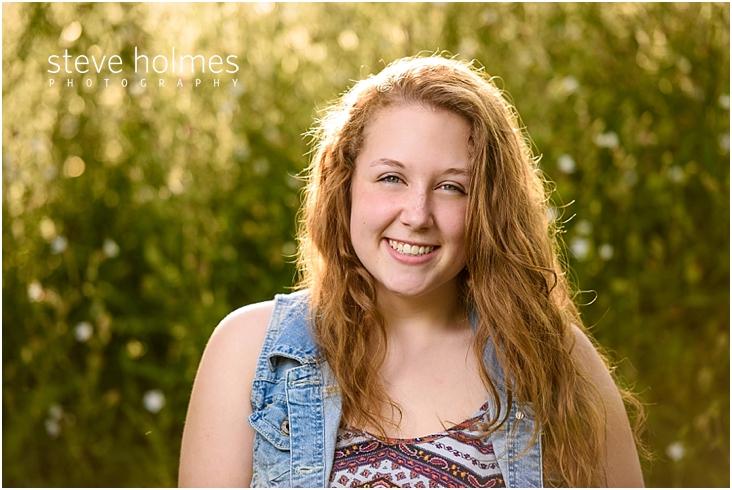 04_Keene-High-School-Senior-Pictures-Outdoors-Demin-Vest