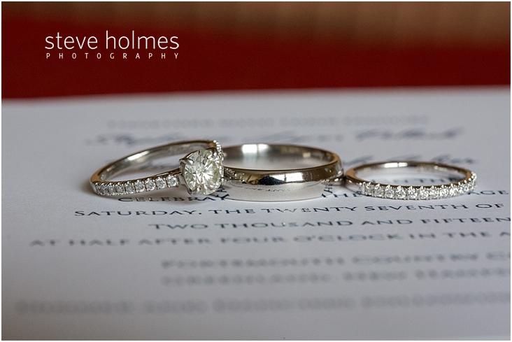 04weddingringsonweddingprogram  Steve Holmes Photography. Copper Wedding Rings. Lot Small Diamond Engagement Rings. New Age Engagement Rings. Ct Diamond Wedding Rings. 24 K Rings. Male Wedding Wedding Rings. Orange Engagement Rings. Rare Pink Diamond Engagement Rings