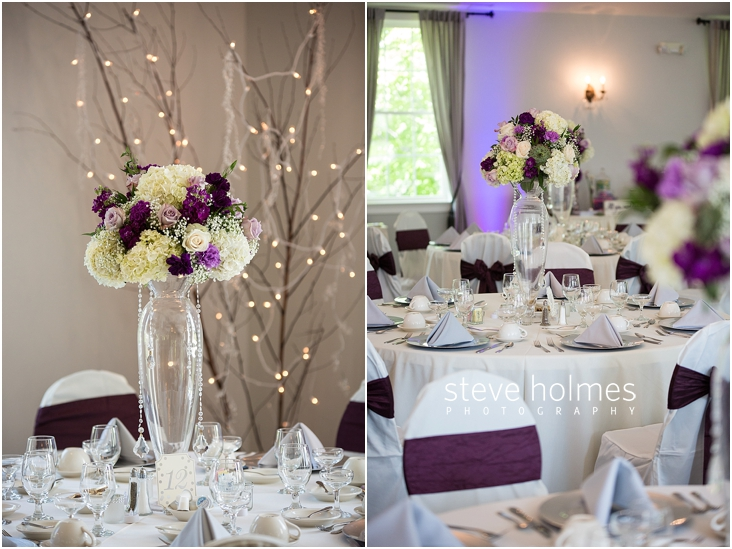 08_white-and-purple-flower-centerpiece-on-reception-table