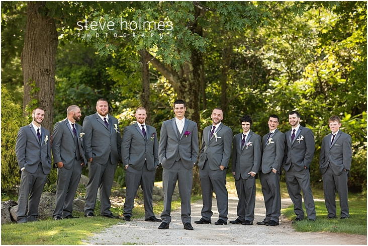 29_groom-stands-with-groomsmen-on-gravel-path-outdoors
