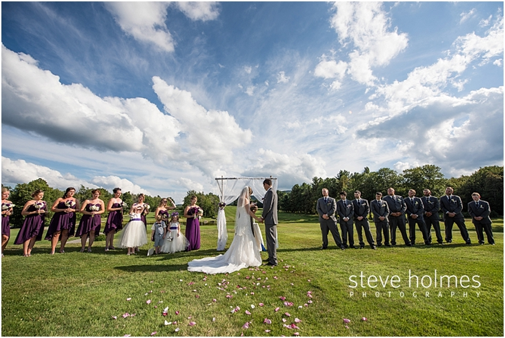 Indoor Or Outdoor Wedding Ceremony Some Facts To Help You: Married - Steve Holmes Photography