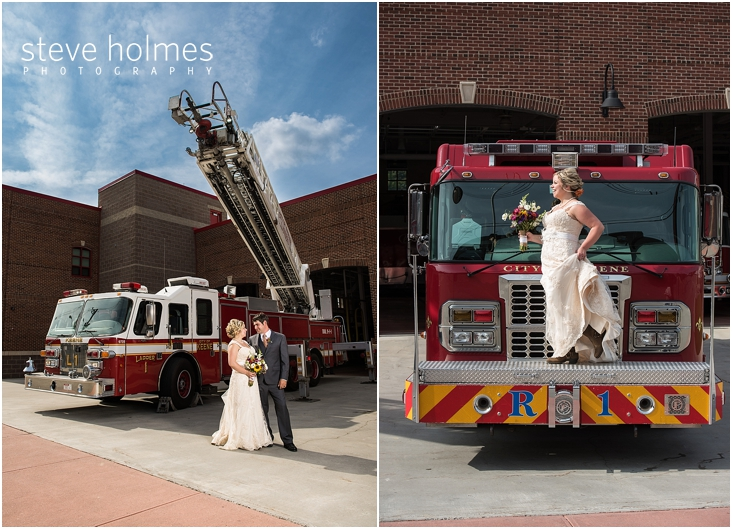 47_bride-and-groom-standing-in-front-of-fire-truck