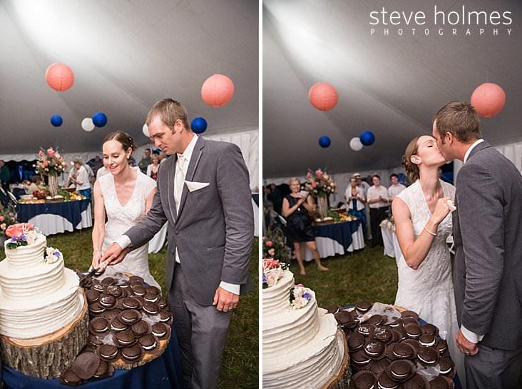 63_Bride and groom cut cake with whoopie pies piled around display.jpg