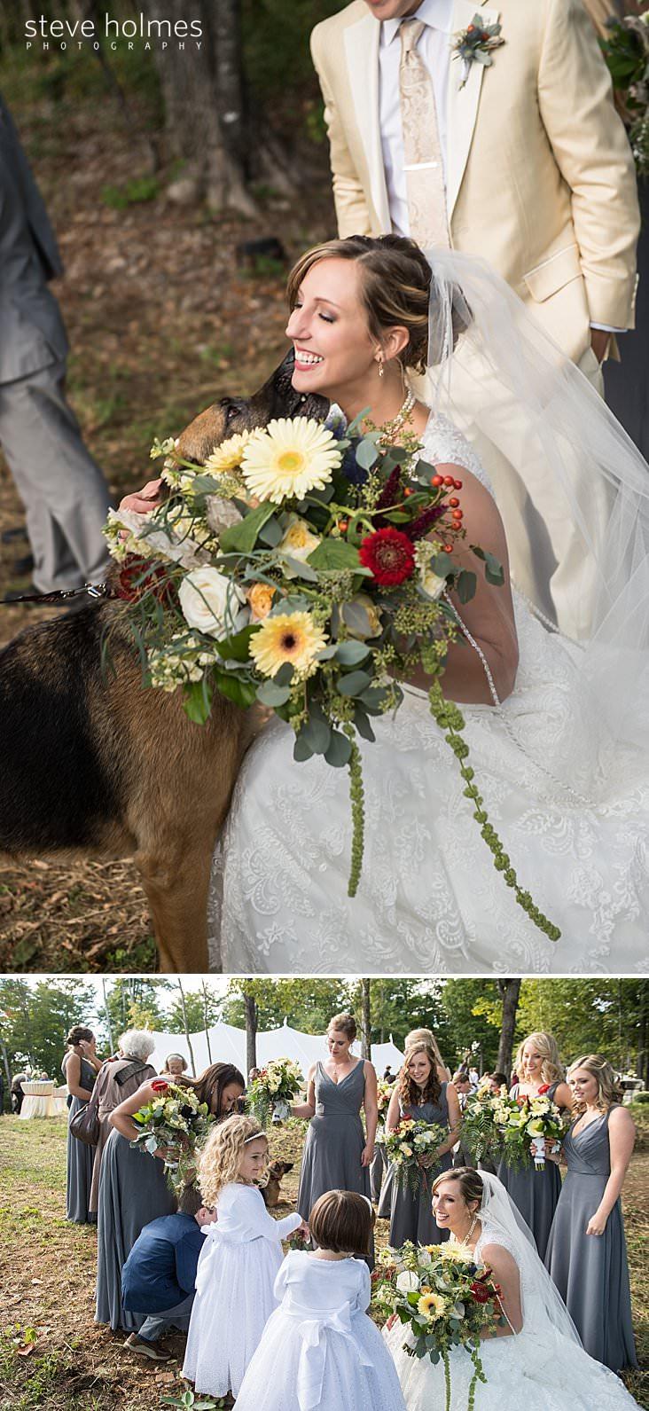 German Shephard kisses bride.jpg