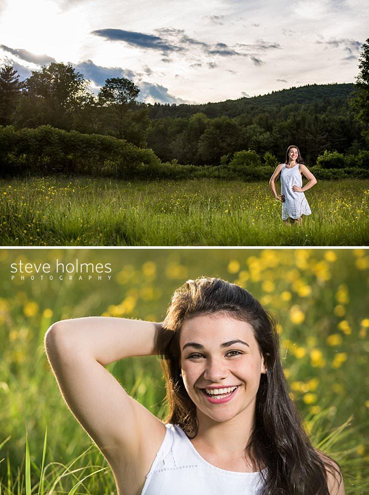 25_Teen wearing white dress stands in green summer field_.jpg