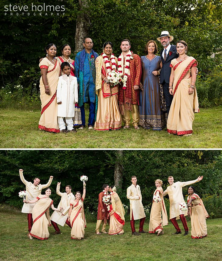 97_Bride and groom in traditional Indian attire pose with family.jpg