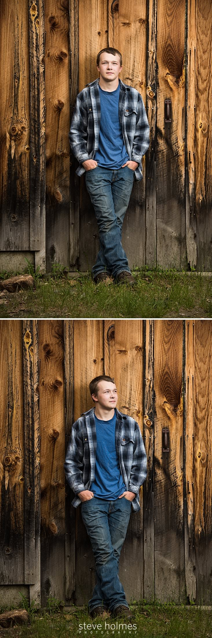 13_Teen rests casually against the side of a barn.jpg