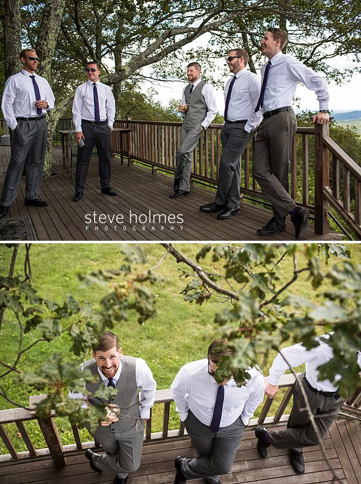 10_Groom and groomsmen hang out on deck before ceremony.jpg