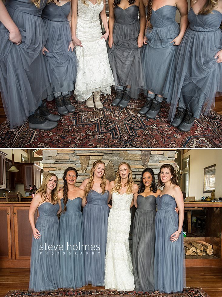 18_Bride and bridesmaids show off their matching winter boots.jpg