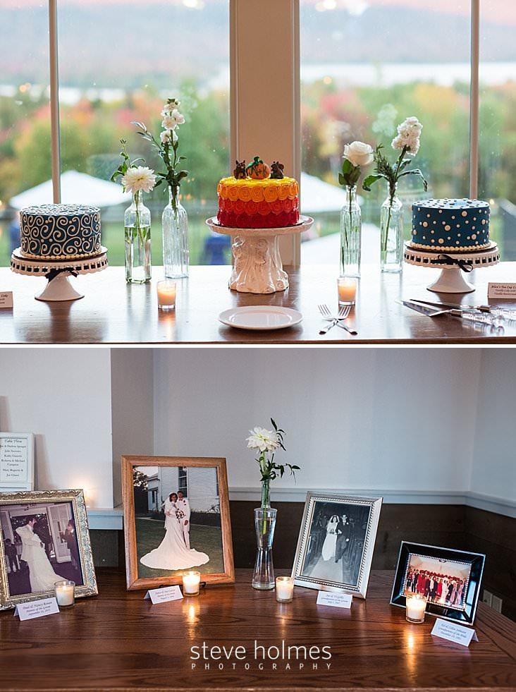 55_Three cakes displayed at wedding reception.jpg