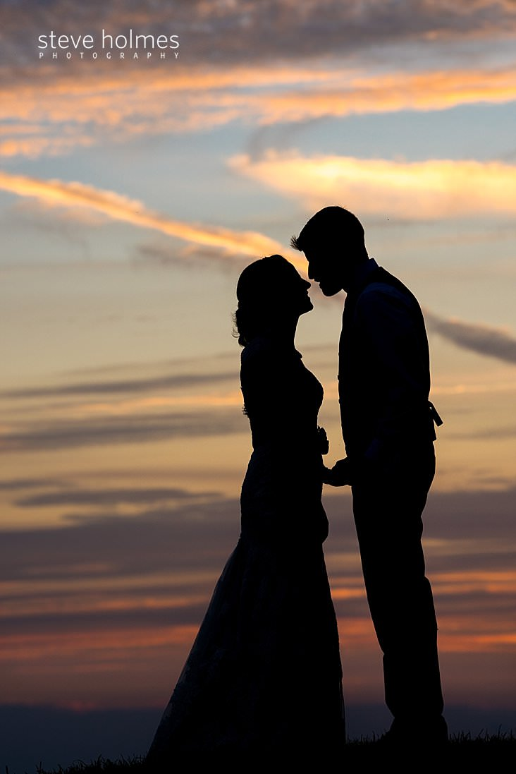 65_Silhouette of bride and groom against sunset sky.jpg
