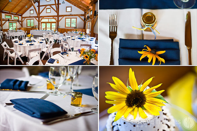 Stonewall Farm Wedding Reception Details