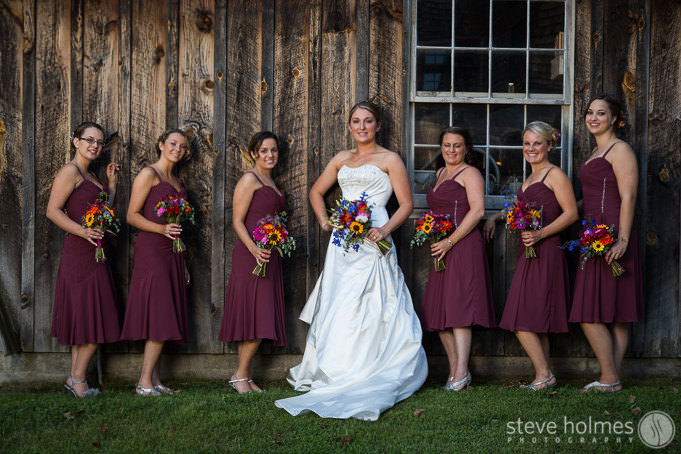 keene-new-hampshire-wedding-maroon-bridal-party