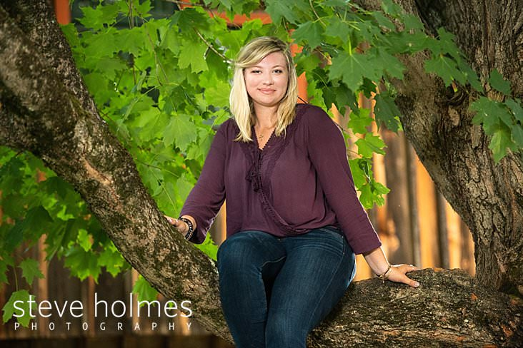 Maples and Streams | Maddy's Senior Portraits