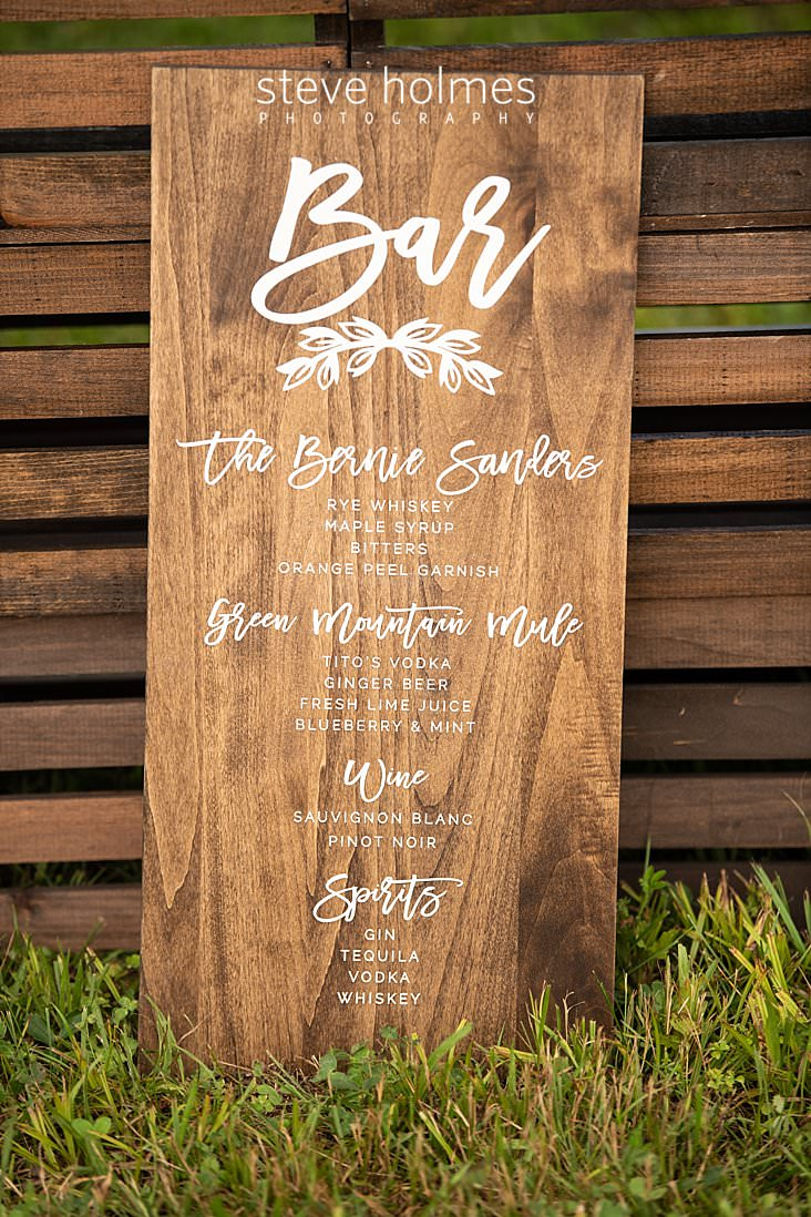 04_Personalized drink menu for wedding reception on wooden plank.jpg