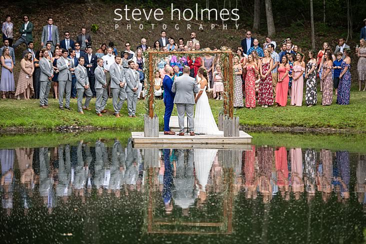 53_Wedding ceremony on a dock on a pond.jpg