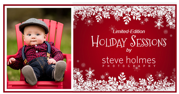 Limited-Edition Holiday Sessions
