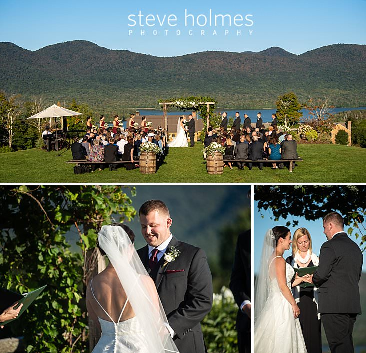 39_Portrait of outdoor wedding ceremony taking place at The Mountain Top Inn and Resort.jpg