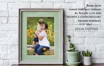 Final Days of Summer | Family Portrait Promotional