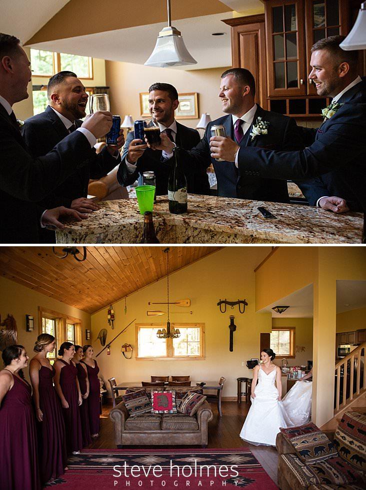 08_Groom and groomsmen share a drink together before wedding begins.jpg