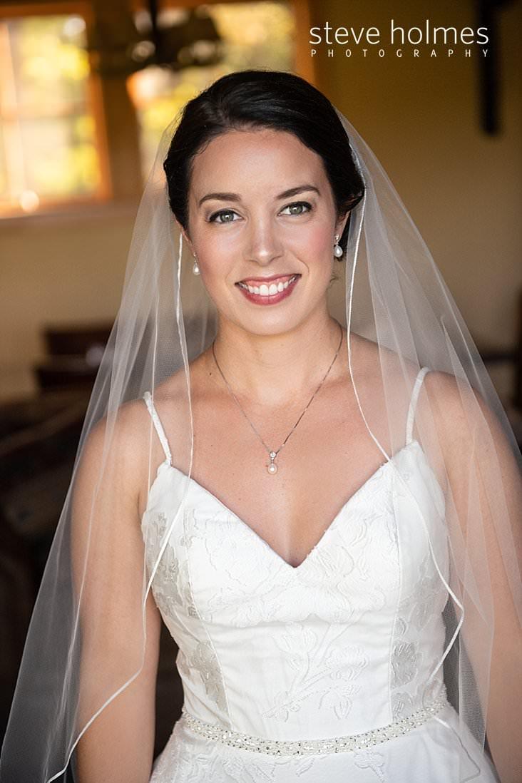 12_Portrait of brunette bride with simple lace veil.jpg