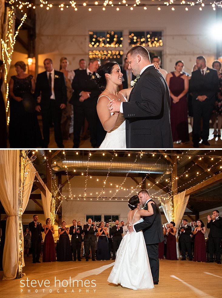 60_Bride and groom share first dance at The Mountain Top Inn and Resort.jpg